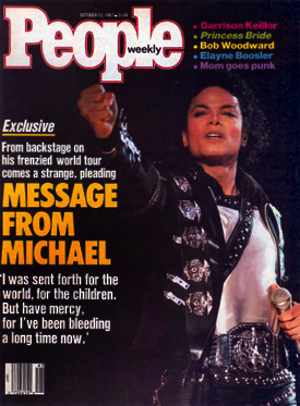 "The press negatively defined Michael's letter as ""twisted, strange, frenzied, and pleading"""