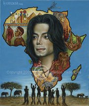 Michael was a humanitarian for Africa