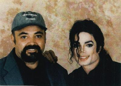Michael with Larry Hart