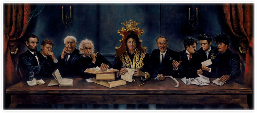 'Heroes - The Last Supper' by Nate Giorgio