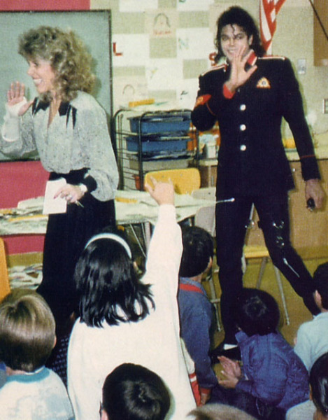 Michael at Cleveland Elementary, Stockton, CA