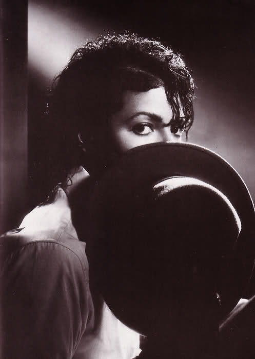 Michael with his Fedora photographed by Kenny Rogers
