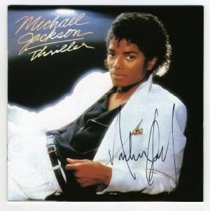 CD autographed by Michael for the Walters family