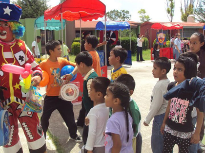 On Michael's birthday, all the cities joined in bringing joy to the children during our biggest event of the year, Children's Festival.