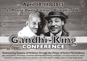 2015 Gandhi-King Conference to explore stubborn racial disparities – Commercial Appeal