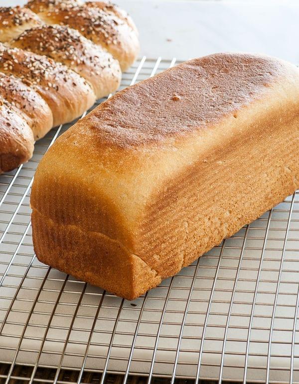honeywholewheatbreadloaf MJ Bakes A Lot