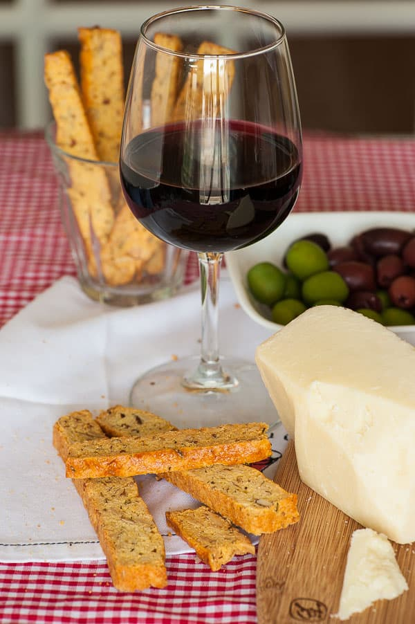 Savory Biscotti With Parmesan and Rosemary