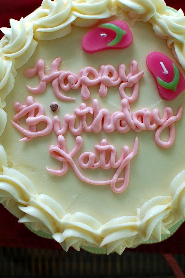 Food Processor Birthday Carrot Cake