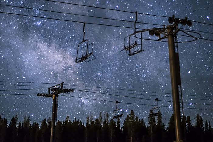 Breckenridge Milky Way