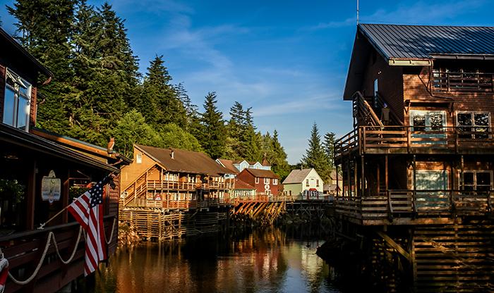 Ketchikan Alaska Creek Street