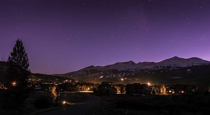 Breckenridge Night Sky