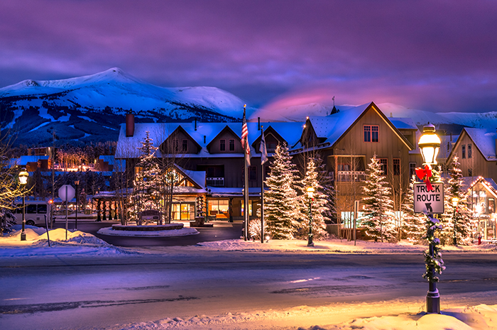 Breckenridge Village Sunrise
