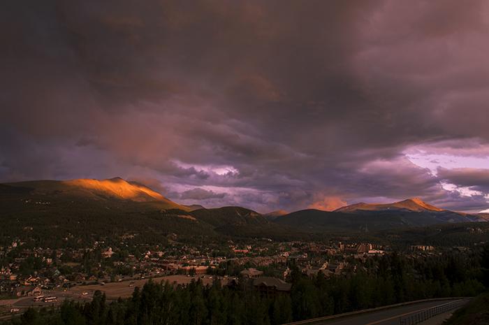 View Over Breckenridge