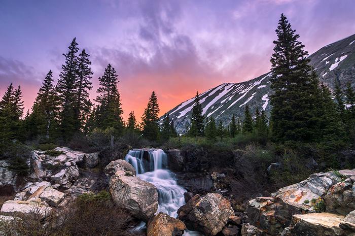 Blue Lakes Falls
