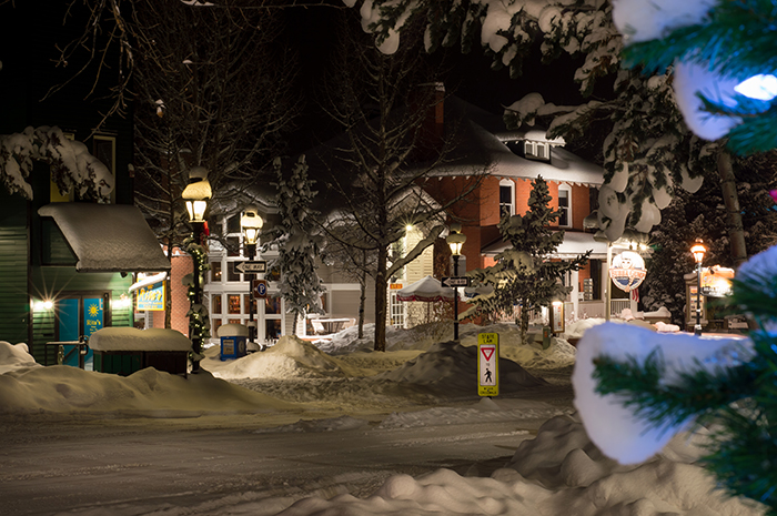 Breck Snowy Night