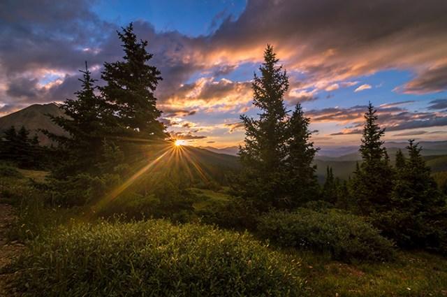 Georgia Pass Sun Rays
