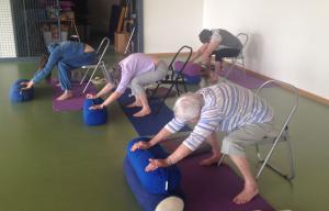 MJC Ancely Activité Yoga Seniors