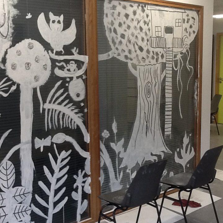 Ateliers poterie céramique et dessin peinture expo mars 4