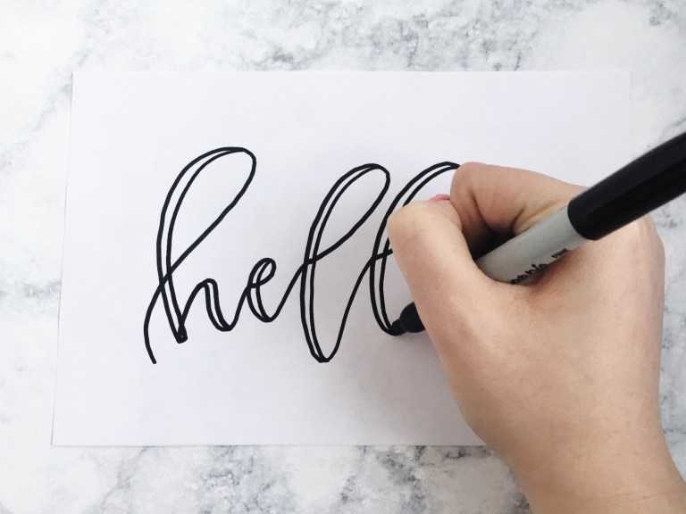 Step-by-Step Guide to Faking Calligraphy like a Pro (+ Free Practice