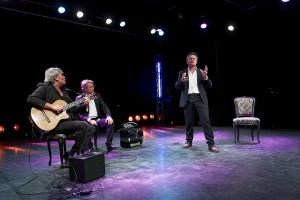 Soirée Cabaret - Philippe Gautier, Guillaume Lainé Mathieu Desfemmes, (de G à D)