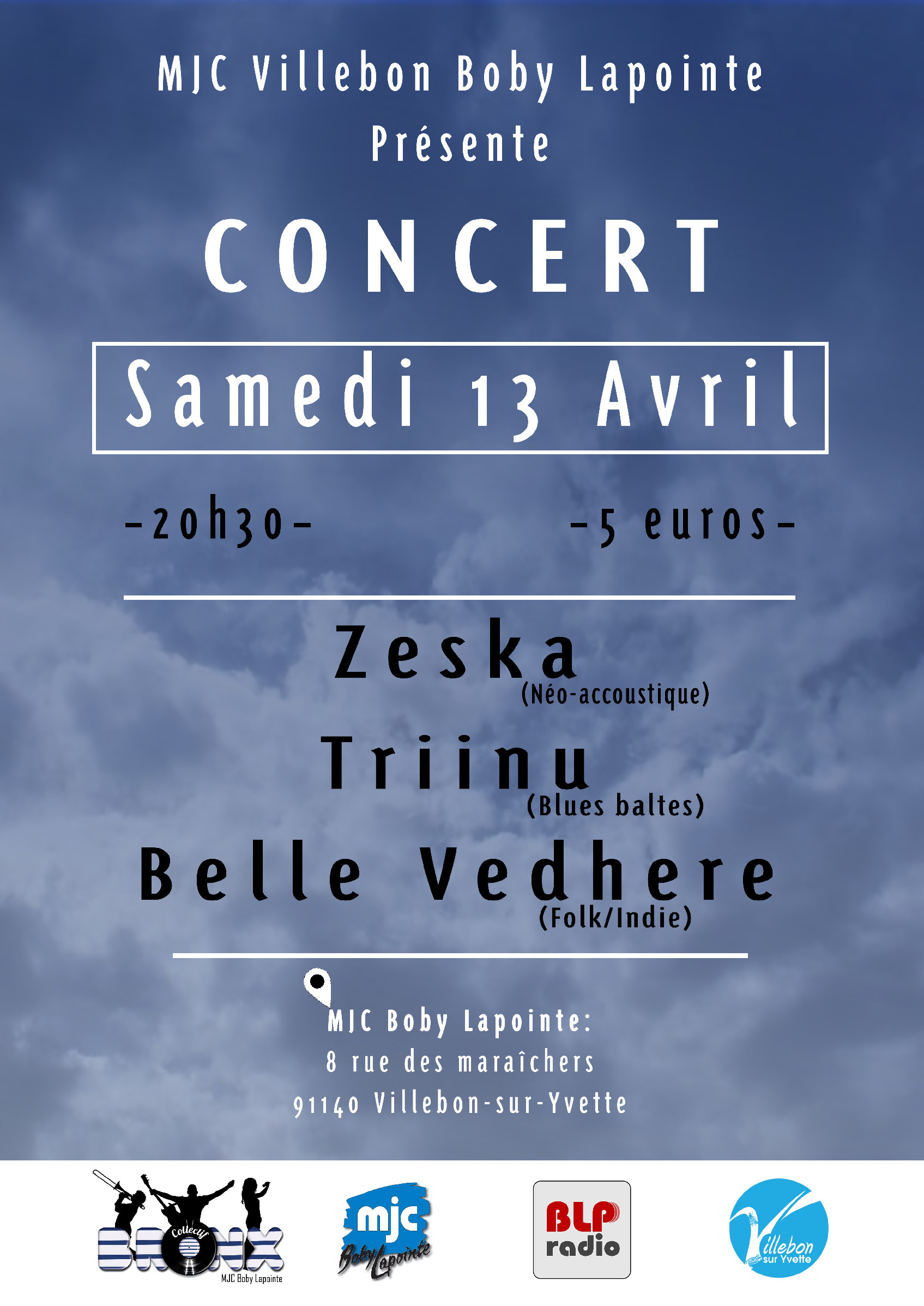 Concert // Zeska + Triinu + Belle Vedhere