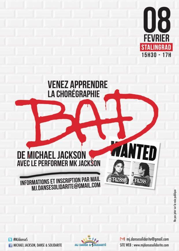 """apprendre à danser """"Bad"""" de Michael Jackson"""