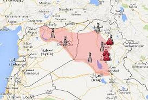 """تنظيم """" داعش """" يسيطر على أراضي تعادل مساحة بريطانيا"""