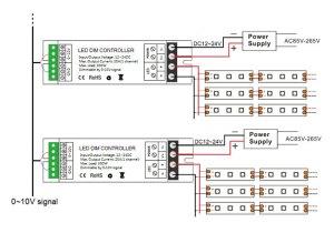 010V LED Dimmer Controller 300W PWM Dimmer | mjjcled