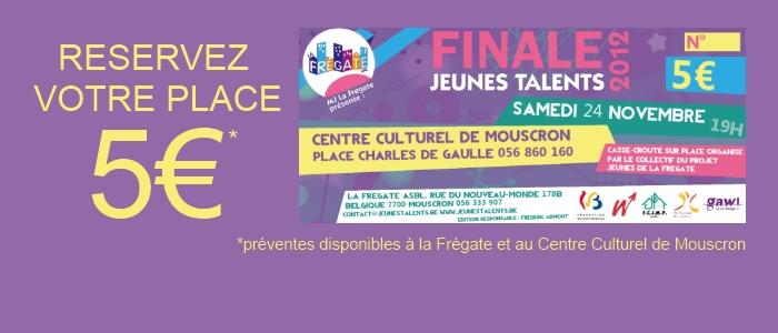 Finale concours Jeunes Talents 2012