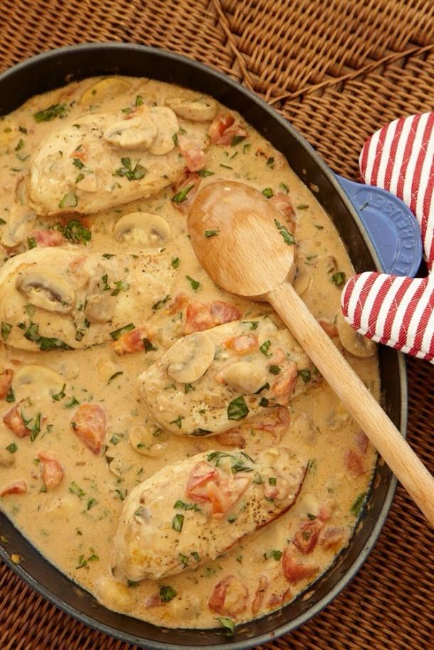 Chicken Chasseur Recipe#mybeverlyhillskitchen#mjonesstyle#alexhiltz