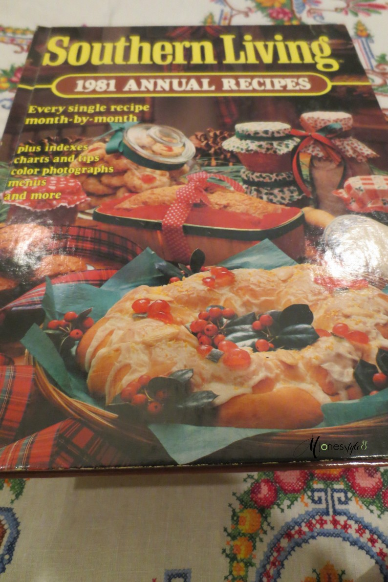 #southern living 1981 annual recipes cookbook