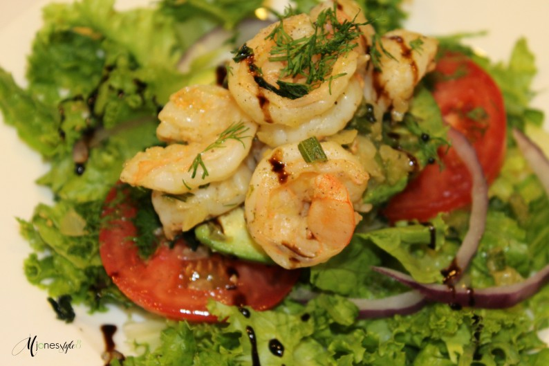 #avocadostuffedshrimp#shrimpsalad