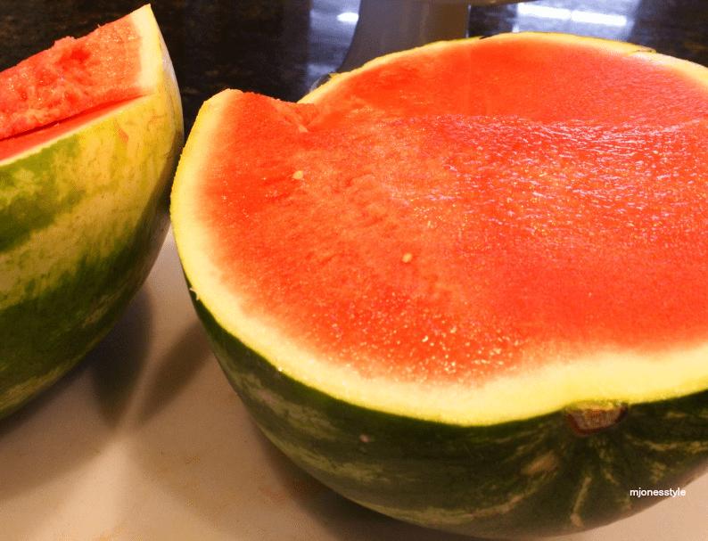 #cutwatermelon