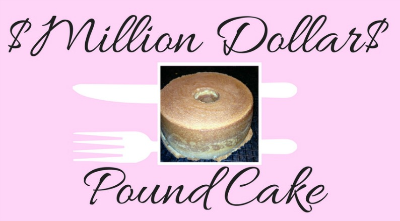 #milliondollarpoundcake #mjonesstyle