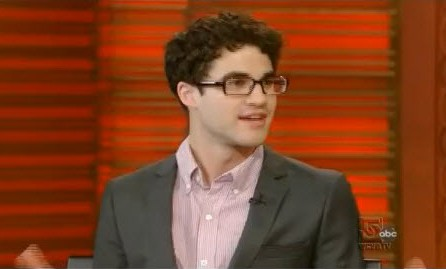 Glee Star Darren Criss Visits Live! With Kelly - VIDEO