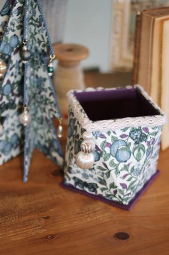 リバティ(オーチャード)で作った多角形ボックス
