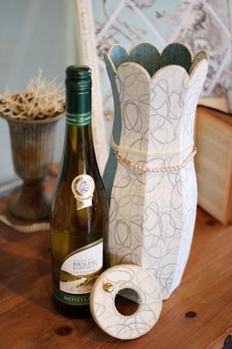 ワイン用カルトナージュボックス