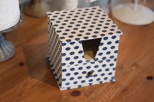 ソレイアードでメモ帳ボックス