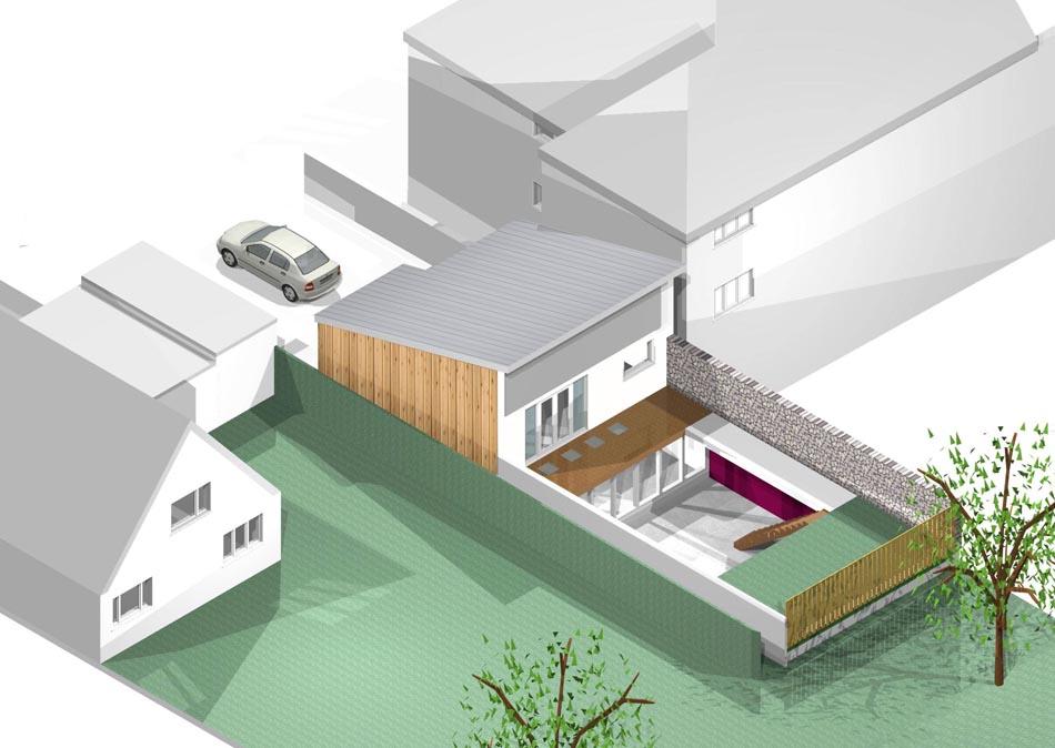 Contemporary Eco House MJW Architects