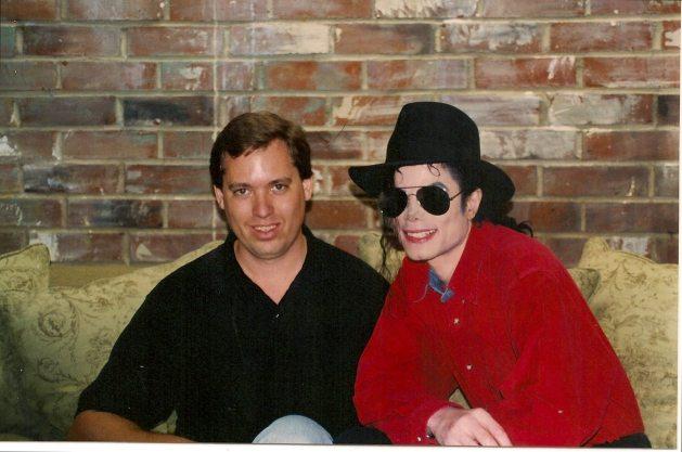 Michael with Brad Sundberg