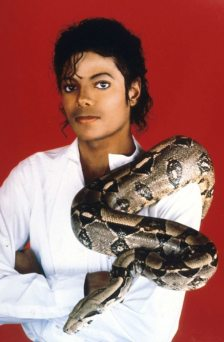 Entertainer-Michael-Jackson-poses-with-his-pet-boa-constrictor-in-1987-1825071