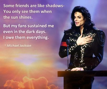 Michael loved his fans