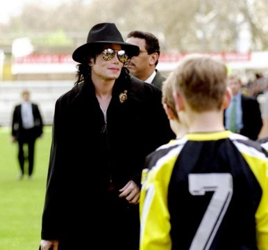MJ at Craven Cottage