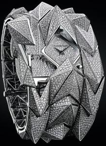 The half million dollar Audemars Piguet Diamond Fury ladies' wristwatch