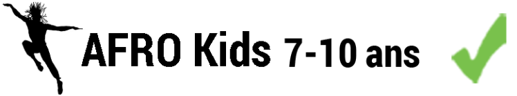 Afro Kids 7-10 ans