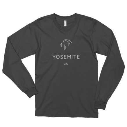 White Yosemite Long sleeve