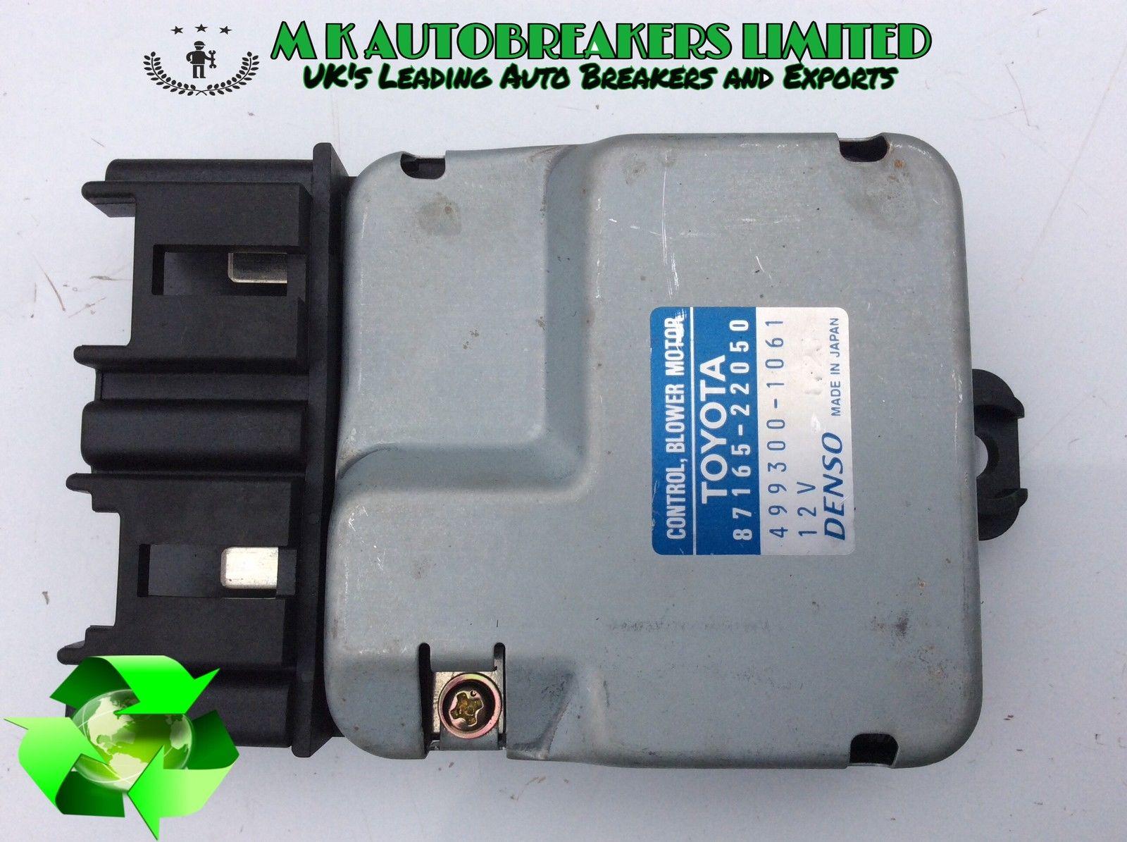 Lexus IS200 From 98-05 Heater Blower Resistor Motor (Breaking For Parts)