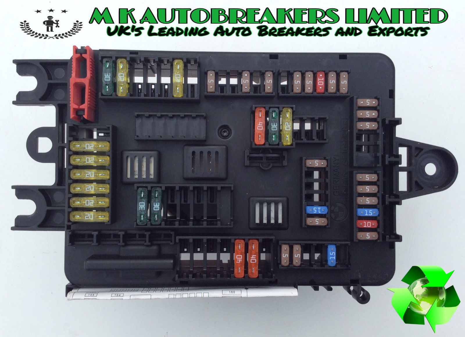 Fuse Box Buy Spares For Bmw E Fuses And - Wiring Diagram For Light ...