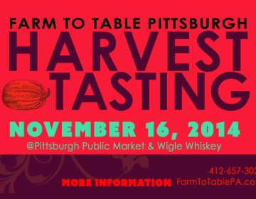 Event Graphic Design: Farm to Table Pittsburgh Harvest Tasting