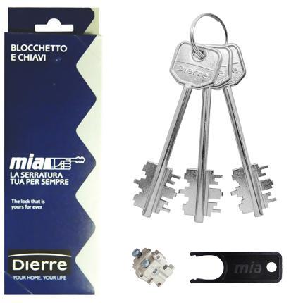 комплект ключей atra для перекодировки замка